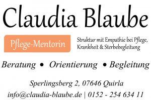 Claudia Blaube