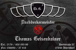 Dachdeckermeister Thomas Geisenhainer
